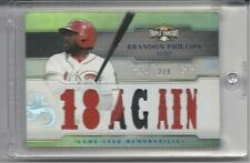 2014 TRIPLE THREADS. BRANDON PHILLIPS. TRI COLORED RELICS. 2/9.
