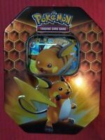 200 Genuine Pokemon Cards Joblot In Hidden Fates Tin +Raichu GX +Bonus Gx/V/VMAX