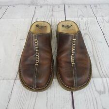 Dr Martens Womens Mule US 6Brown Leather Sandals Slide On AirWair Shoes