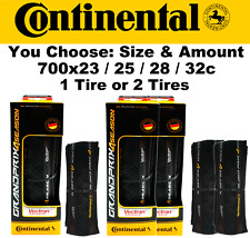 Continental Grand Prix GP 4-Season 700x 23/ 25/ 28/ 32 AllWeather Bike Fold Tire