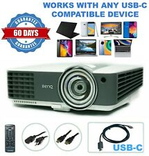 BenQ MX819ST Short-Throw Projector 1080p - Professional Streaming bundle USB-C