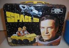 SPACE: 1999 LUNCHBOX AND THERMOS SET 1975 GERRY ANDERSON MARTIN LANDAU METAL