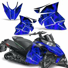 Pro Climb Wrap Graphic Kit Arctic Cat Cross Snowmobile Sled 2012-2013 ICE BLUE