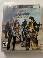 Sengoku Basara: Samurai Heroes (Sony PlayStation 3, 2010) Used - Tested