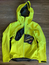 NWT Arc'teryx Alpha SL Jacket Gore Tex Waterproof Yellow Women's Size XS