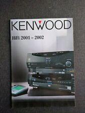 Original Kenwood Katalog HiFi 2001/2002