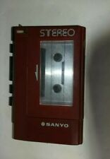 Vintage Sanyo M 4440 Stereo Cassette player Tape Recorder Walkman Untested