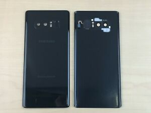 ✅Genuine Samsung Galaxy Note 8 Battery Cover Glass Housing Back Black