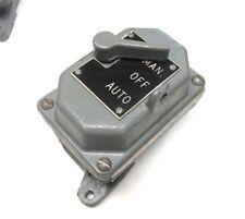 "Cutler-Hammer Manual Starter ""Man"", ""Off"", ""Auto""  .. YH-453"