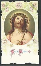 Estampa del Ecce Homo santino holy card image pieuse