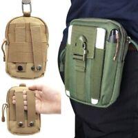 Ceinture Taille Pack Sac Tactique Militaire Molle Pochette Banane Phone Poche