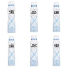6 X RIGHT GUARD 150ML DEODORANT 72H PROTECTION XTREME COOL WOMEN ANTI PERSPIRANT