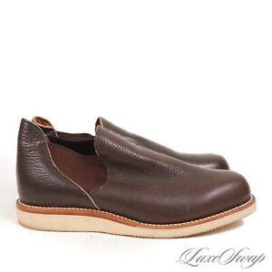 Chippewa Made in USA HEAVYWEIGHT 4020COF Romeo PullOn Leather Wedge Boots 11.5 E
