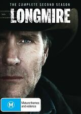 Longmire: The Complete Second Season (DVD, 2014, 3-Disc Set) #V1