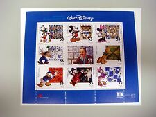 2001 MNH PORTUGAL WALT DISNEY STAMP SHEET MICKEY MOUSE GOOFY PLUTO DONALD DUCK