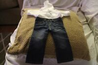 American Girl Today Blue Jean and sweatshirt  Retired