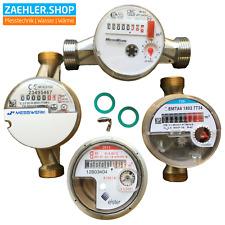 """Wasserzähler AP Wasseruhr • alle Größen 3/4"""" & 1"""" AG, Qp 1,5 & 2,5, 80 110 130mm"""