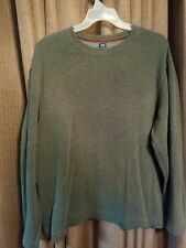 Gap Mens Cotton Long Sleeve Medium Weight Crewneck Fitted Pullover Sweater XL