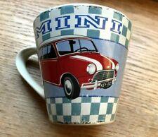 """NEW : Wiscombe Art Mug - Red Mini car, Mug, 3.5"""" tall,  unused"""
