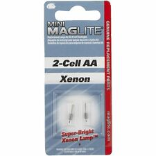 2-PACK Maglite Replacement Flashlight Bulb For Mini Mag-Lite And Solitaire Light
