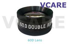 60D Double Aspheric Lens / 60D Ophthalmic Diagnostic Lens Indian (Black Color)