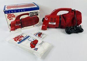 1991 Royal Dirt Devil HAND VAC Handheld Vacuum in Box Model 103 w/Bags & Belts