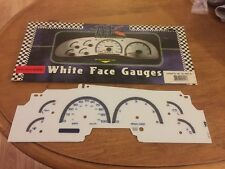 99 00 01 02  LINCOLN NAVIGATOR EXPEDITION FORD F150 99-03 WHITE FACE GAUGES Blue