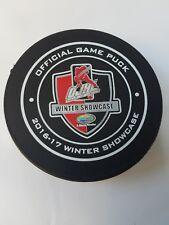 2016-17 WINTER SHOWCASE ONTARIO OJHL VICEROY CANADA OFFICIAL GAME PUCK