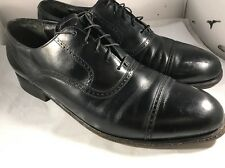 French Shriner Black Oxford Shoes Size 10.5 D