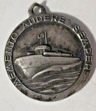 Medaille Memento Audere Semper / Torpedo-Motorboote Toastautomat Selten