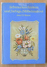 Schmuck-Technik farbige Möbel-Malerei Technik Farbe Werkzeug Leim Spiritus Lasur