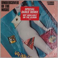 "ROLLING STONES: Undercover of the Night EXTENDED Dance Remix 12"" Shrink"