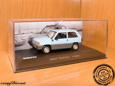 SEAT PANDA SOFT BLUE 1:43 1980 MINT WITH BOX-ART!!!