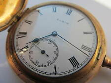 Antique Elgin full hunter pocket watch