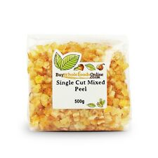 Candied Glace Mixed Peel Single Cut | 500g | Buy Whole Foods Online Free UK P&P