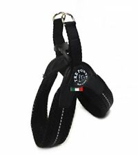 Imbragature neri per cani taglia cane XS