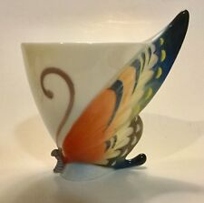 Franz Porcelain  Tiger Swallowtail Butterfly. Cup