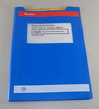 Werkstatthandbuch VW Golf III / Vento Karosserie ab 1992 Stand 01/1997