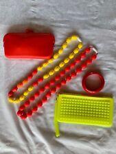 Silicone Teething Necklace And Bracelet Set