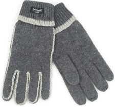 Winter Warm Woolen Gloves Knit Thermal Thinsulate Fleece Lining Unisex Thick M/L