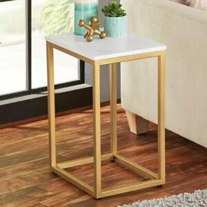 Table Side End Sofa Coffee Room Storage Furniture Tray Living Nightstand Stand