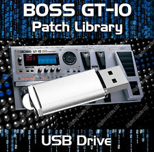 More details for boss gt-100 guitar effects pedals - pre-programmed sounds tone patches usb