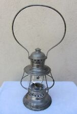 Antique Railroad Lantern CT Hamm No. 3-1/2 Conductor's Lantern XLNT