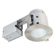 Recessed Lighting Kit Dimmable Downlight Bathroom Shower LED Frosted Glass 4in