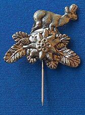 DEER, HUNTING, Croatian vintage pin, badge !