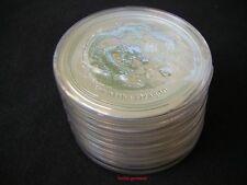 5 pc. 2 Ounces LUNAR DRAGON 2012 oz argent pièce de monnaie