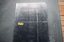 Yale OS 030 Eb Gabelstapler Spart Teile Manuell Buch Katalog 2000 Geschäft Liste