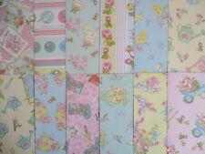 """12 Hojas Dovecraft 12x12"""" papel de Scrapbook-no me olvides Jardín tema floral"""