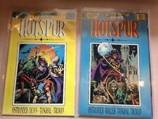 Hotspur 1-3 Complete Near Mint Lot Set Run Eclipse Comics Ostrander