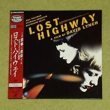 LOST HIGHWAY [1997/David Lynch] - RARE JAPAN DOUBLE LASERDISC + OBI (PILF-2507)